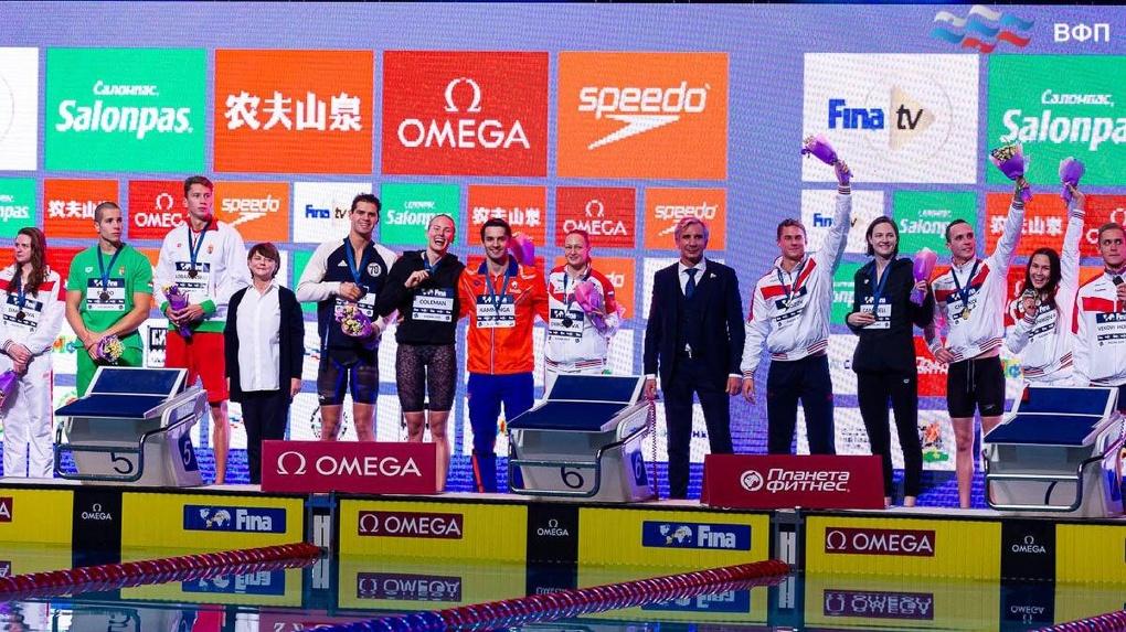 Золото, серебро и бронзу завоевали новосибирские пловцы на шестом этапе Кубка мира