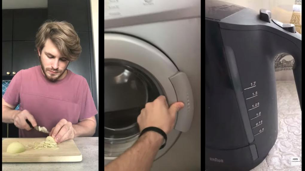 «Сыграли на стиральной машине и чайнике»: новосибирские музыканты выпустили необычный клип про карантин