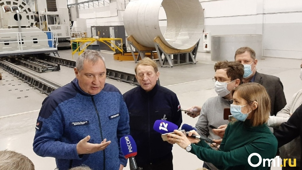 Дмитрий Рогозин заявил, что Омск будет участвовать в освоении Луны