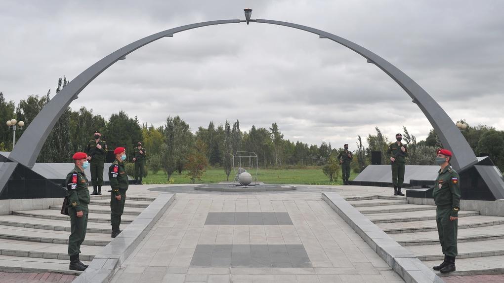 В Омской области почтили память жертв террористических актов