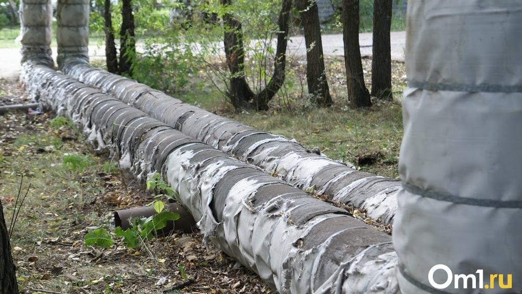 Из-за коммунальной аварии в Омске без тепла остаются детские сады и школы