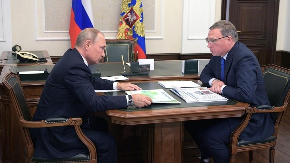 Буркова в Кремле будут оценивать по качеству омских дорог