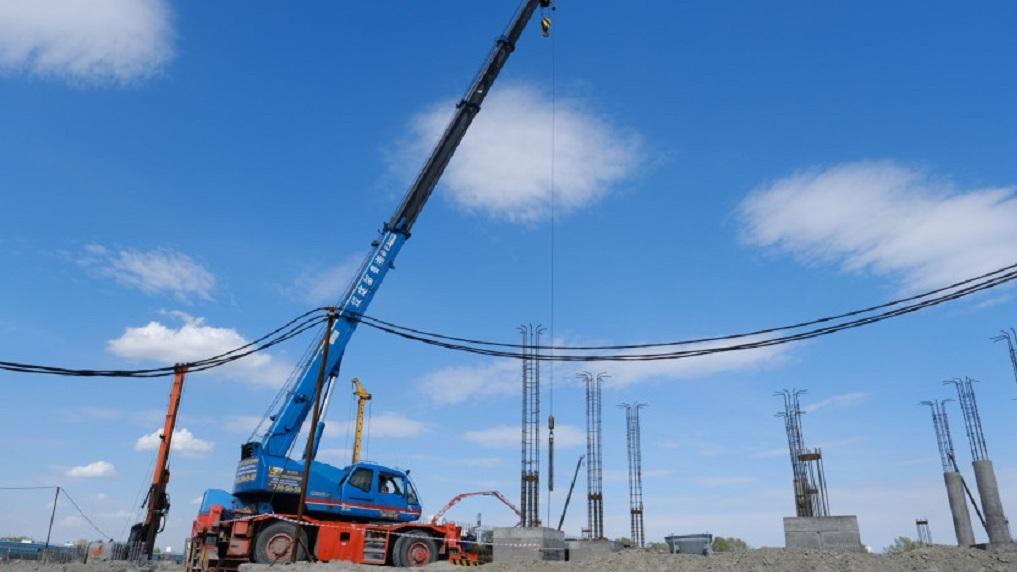 В Новосибирске строительство новой ледовой арены закончат летом 2022 года
