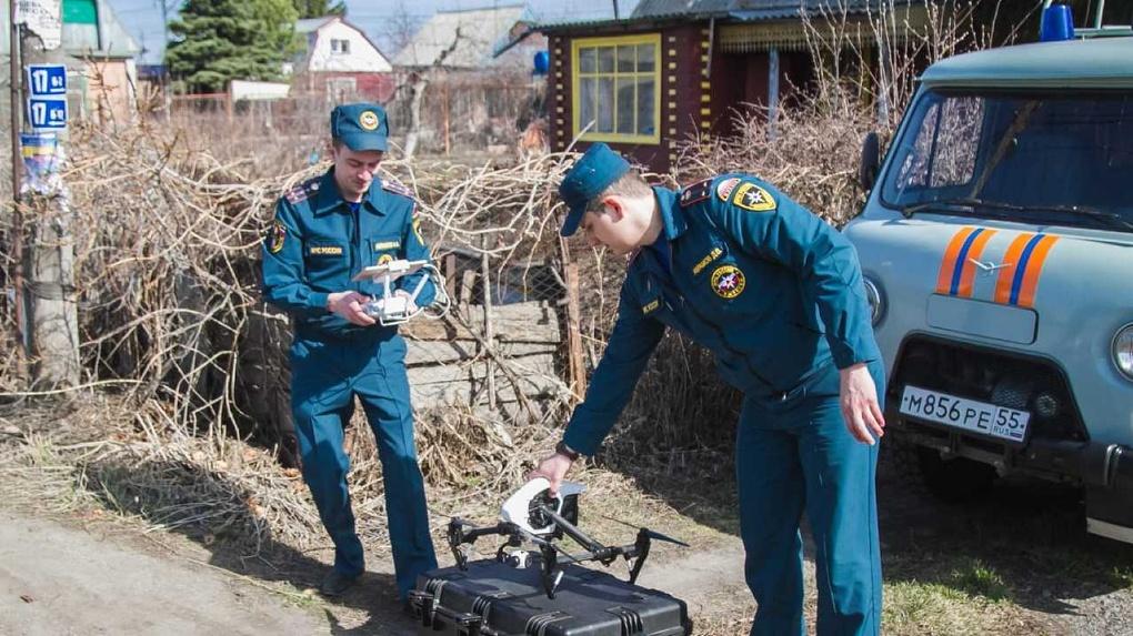 Дачников-нарушителей режима в Омске будут искать с квадрокоптера