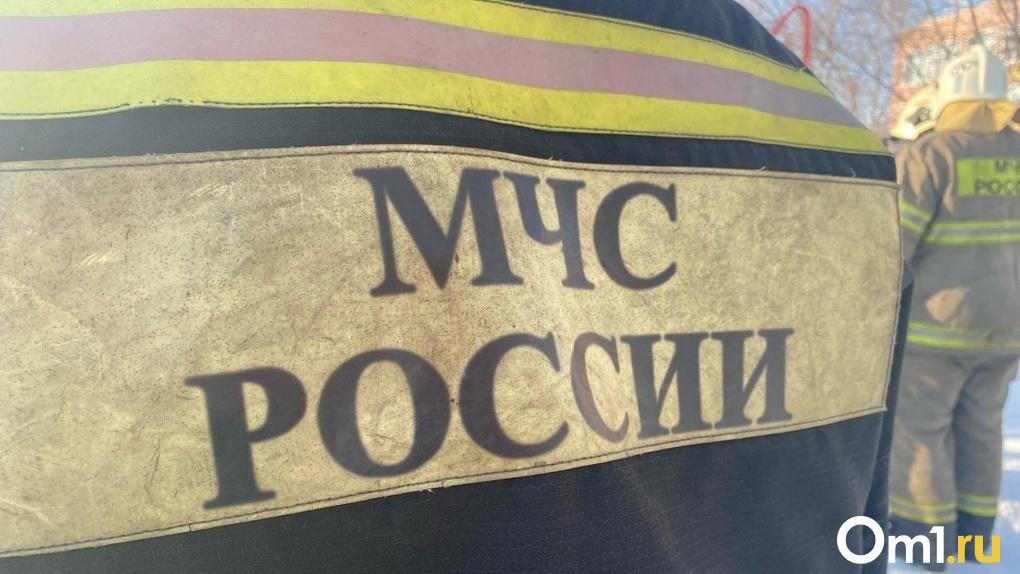 На трассе Тюмень-Омск частично перекрыто движение из-за крупного лесного пожара