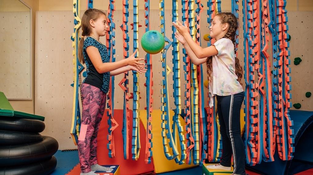 Для детей с задержкой развития в «Евромеде» открыт зал реабилитации