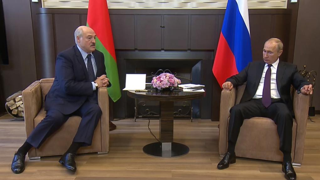 Владимир Путин встретился с Александром Лукашенко. Ход переговоров
