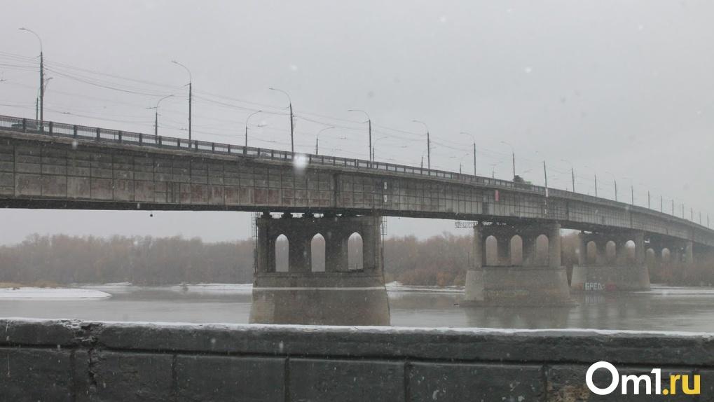 В полиции рассказали о падении омича с Ленинградского моста