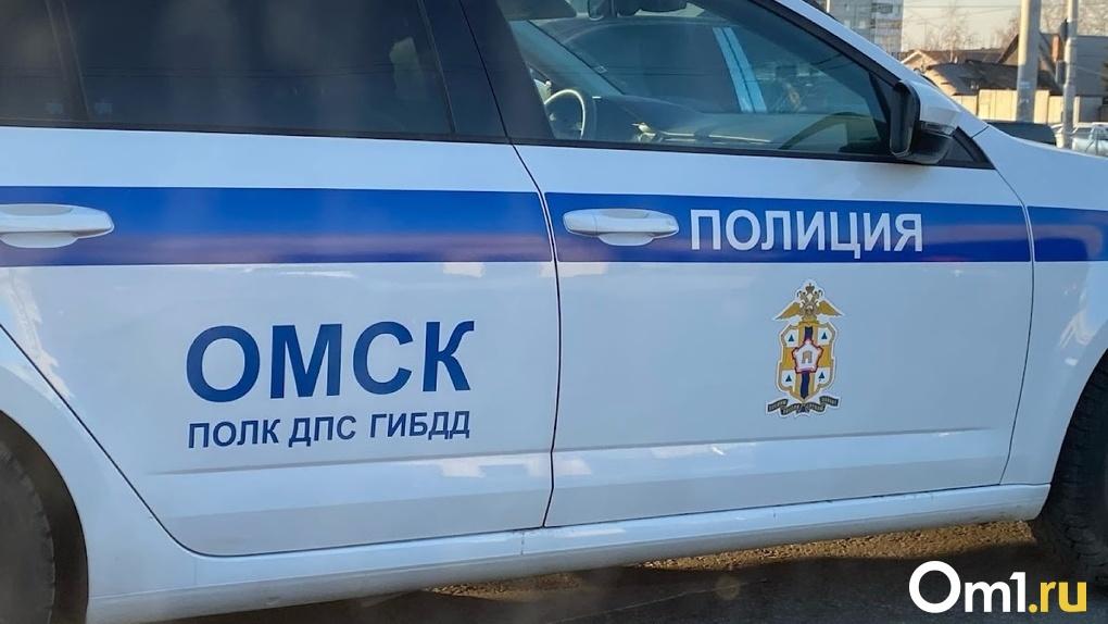 Прокатился по трупу: под Омском произошло страшное ДТП