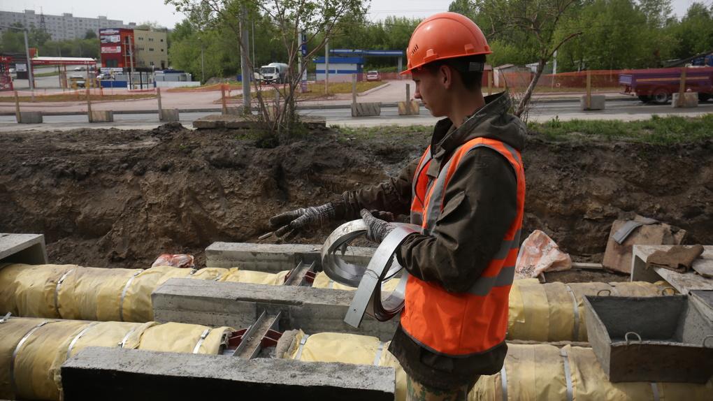 774 млн рублей потратят на ремонт теплосетей в Новосибирске в 2021 году