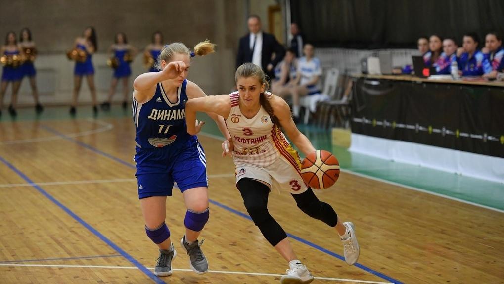 Омские баскетболистки вышли в полуфинал, выиграв серию с Курском