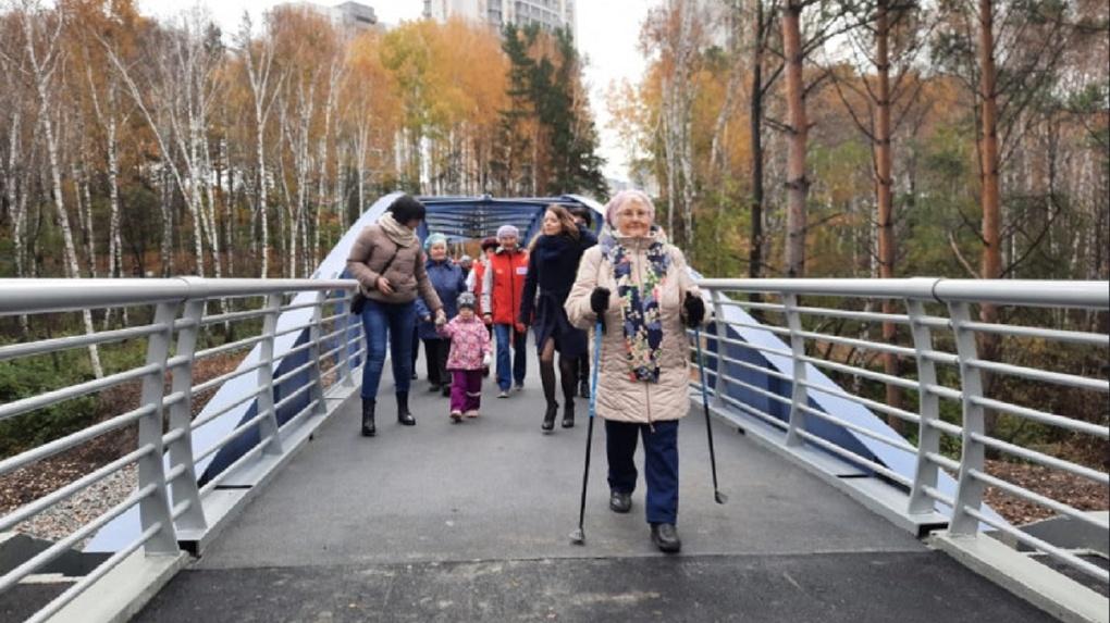 Современный парк из заброшенного оврага создали под Новосибирском