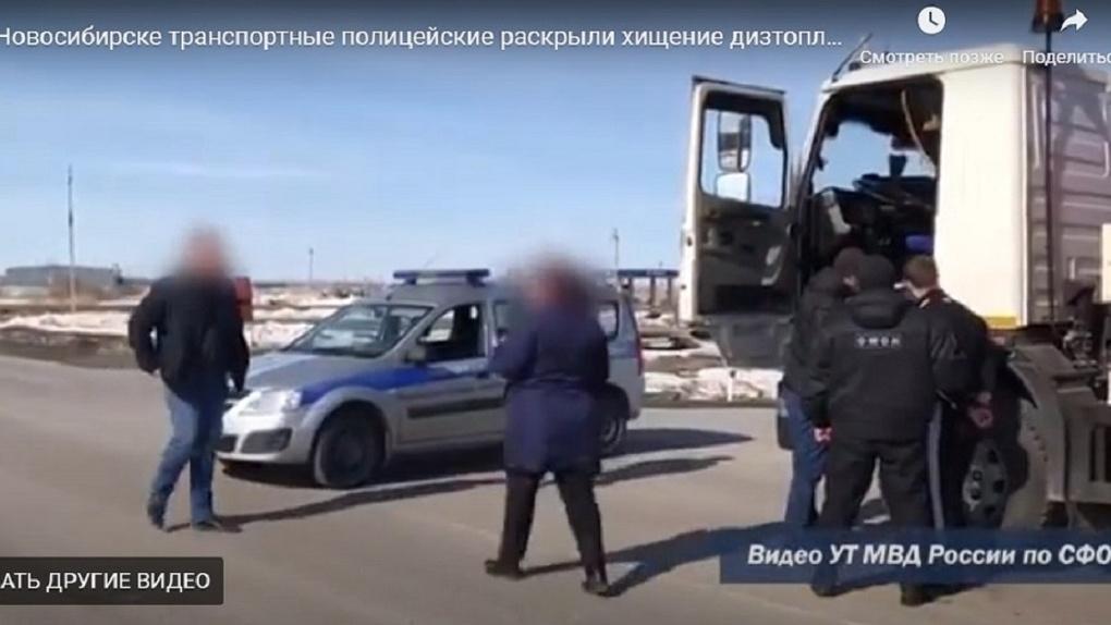 Новосибирец наворовал у АЗС девять тысяч литров бензина