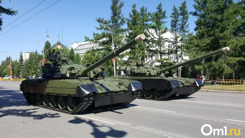 В Омске появится памятник, сделанный из настоящего танка Т-80
