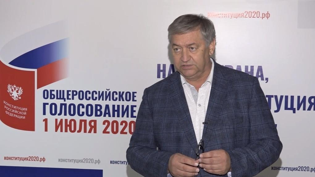 Нестеренко рассказал, сколько потратили на выборы в Омской области