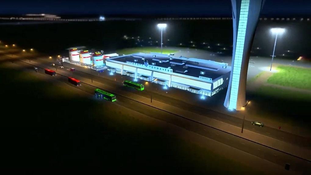 Геймер создал новосибирский аэропорт Толмачёво в онлайн-игре