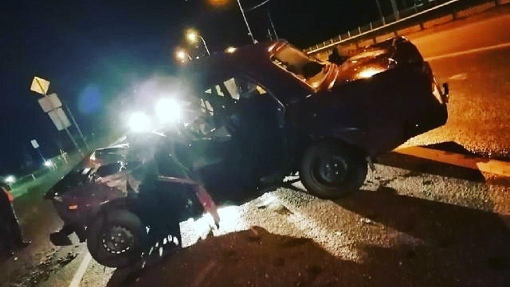 На омской трассе смерти трое подростков без прав разбились в ДТП
