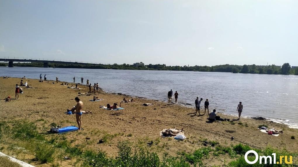 Пляжи в Омске планируют открыть на следующей неделе