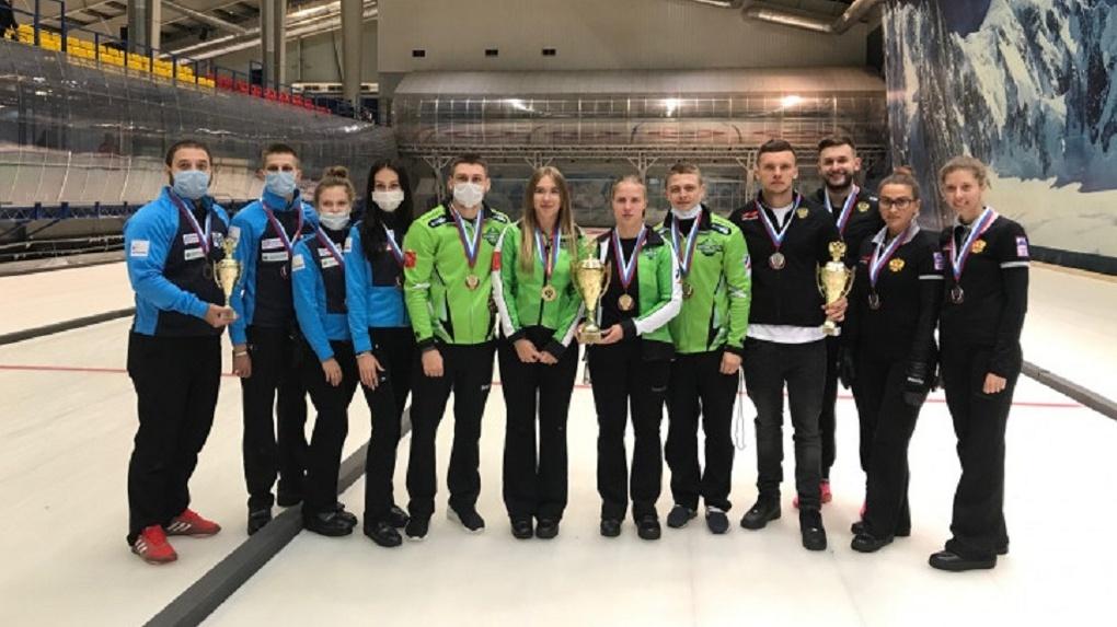 Новосибирские фигуристы выиграли бронзу чемпионата России