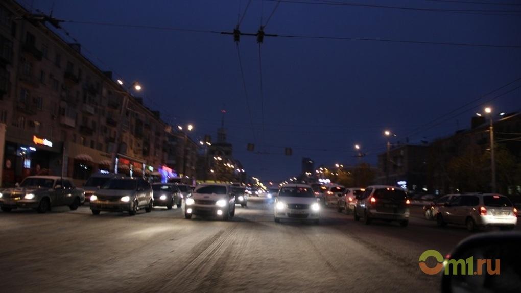 В пятничное утро пробки в Омске набрали 7 баллов