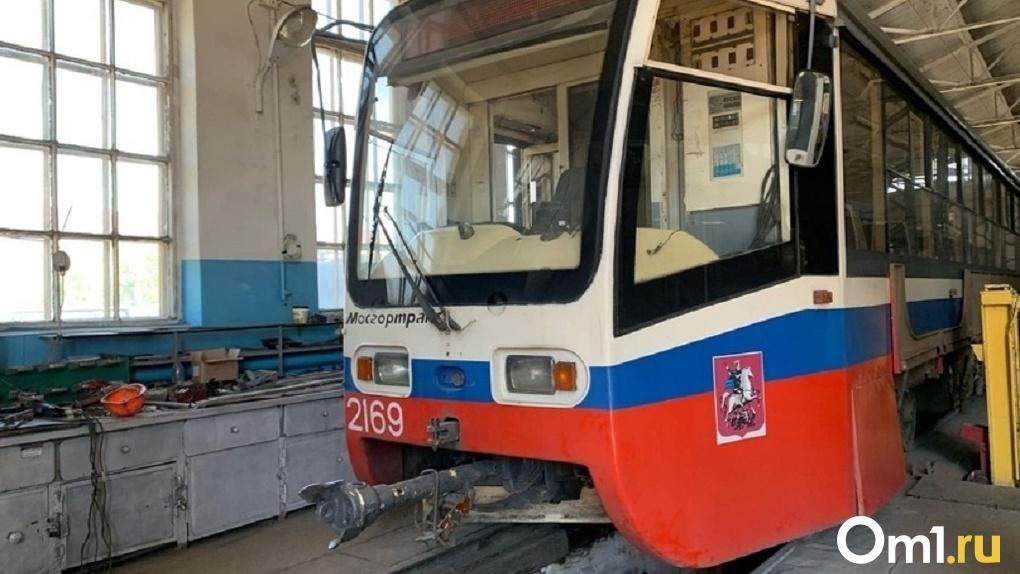 В Омске временно отменят два трамвайных маршрута