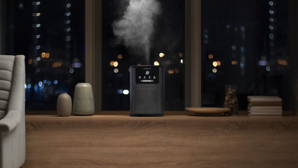 Здоровый климат в вашем доме с новым ультразвуковым увлажнителем воздуха