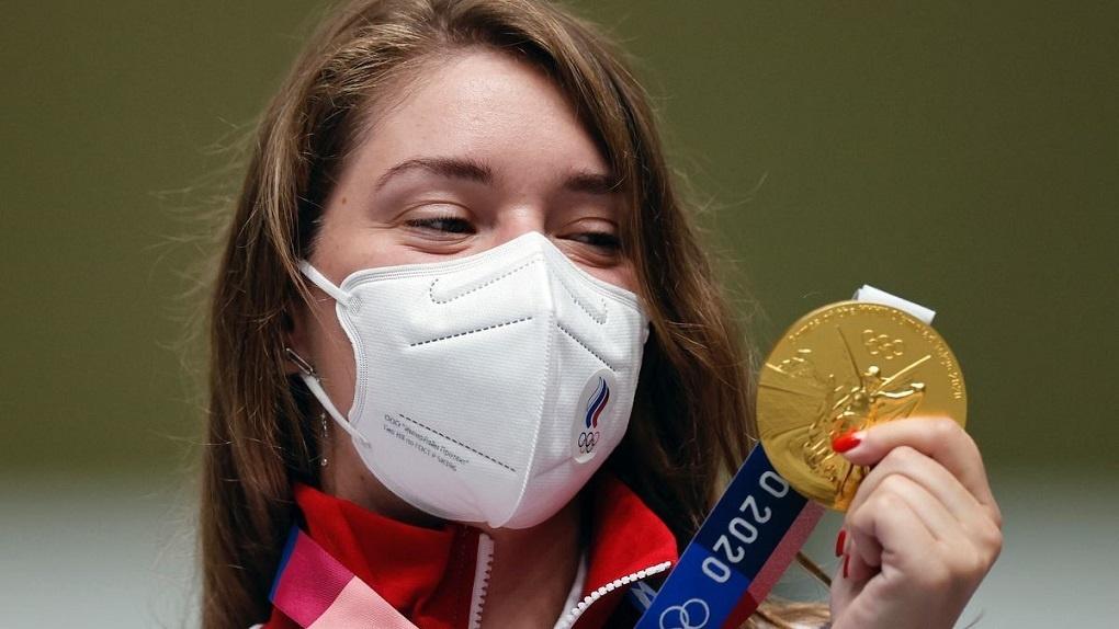 Президент России Владимир Путин поздравил омичку Виталину Бацарашкину с золотом Олимпиады