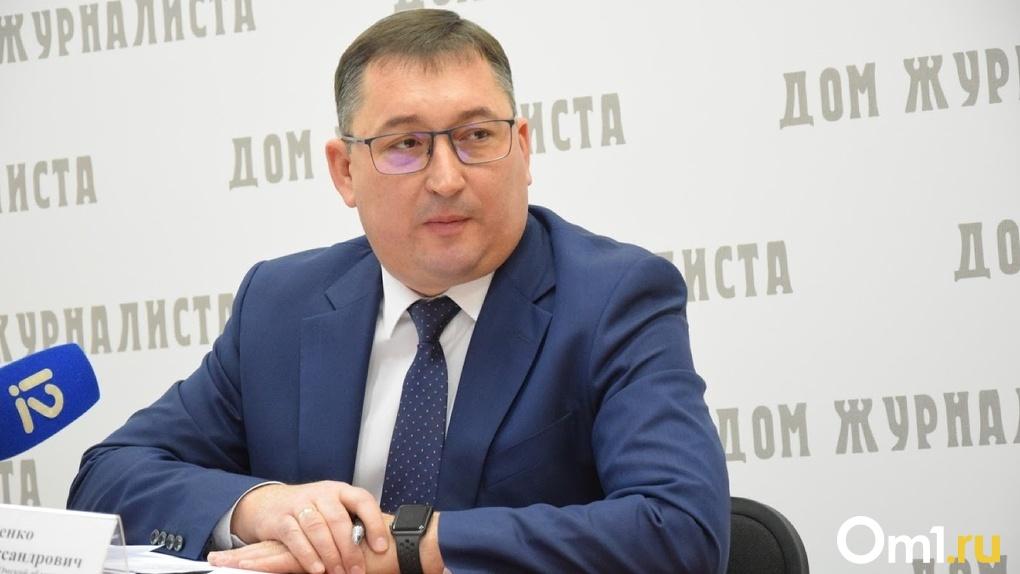 В Омске на больничный ушёл министр финансов Вадим Чеченко