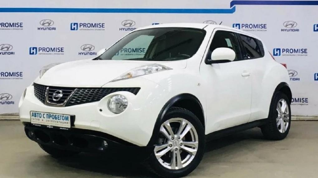 В Новосибирске выставили на продажу самый дешёвый Nissan Juke