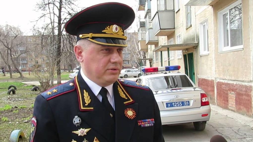 Срочно! Глава МВД по Новосибирской области уходит в отставку