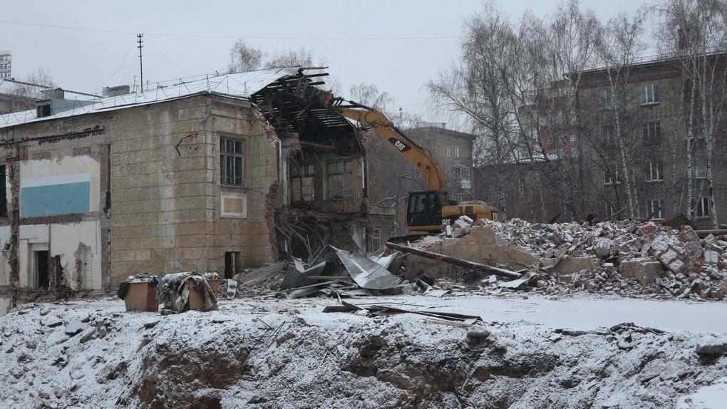 Новосибирский архитектор обвинила власти в незаконном сносе школы № 54
