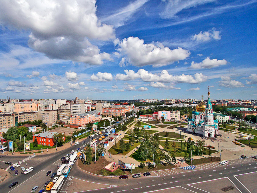Картинки города омска лета этом среду