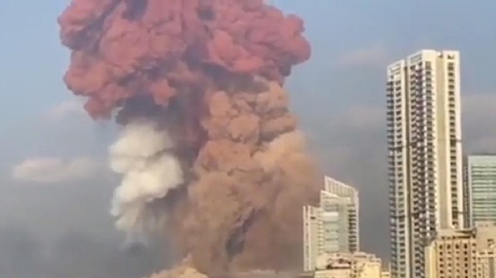 Почти три тысячи тонн аммиачной селитры. В Ливане прогремел мощнейший в истории страны взрыв