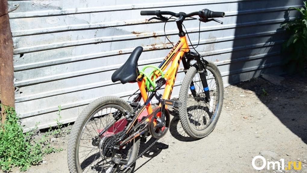 10-летняя велосипедистка из Омской области сломала руку 6-летнему малышу