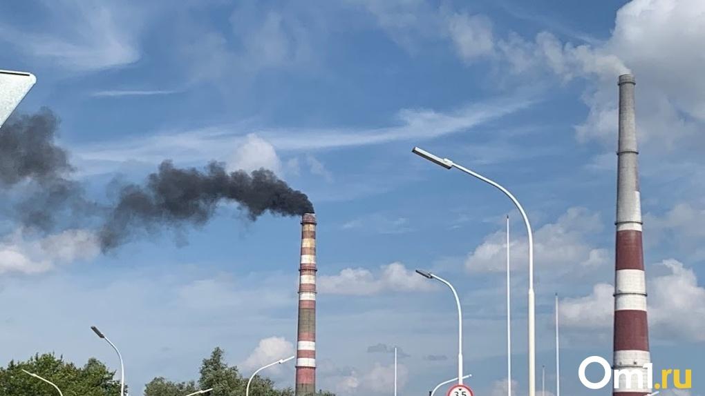 Объем выбросов в Омске сократился на 2514,5 тонны в год
