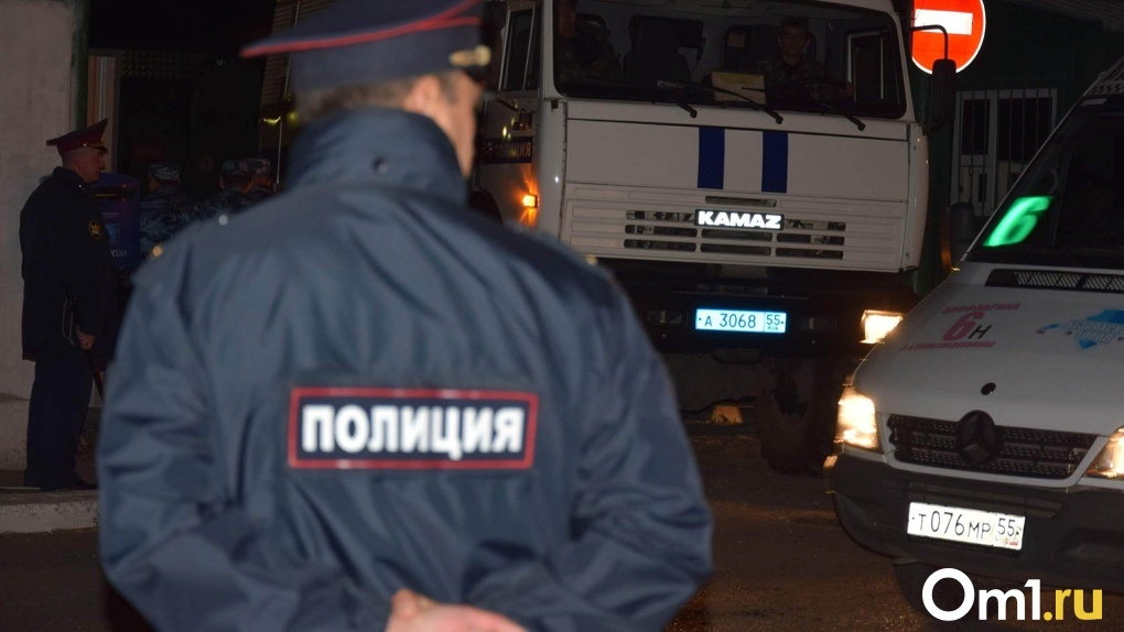 В Омске неизвестный с ножом напал на мужчину и забрал у него телефон