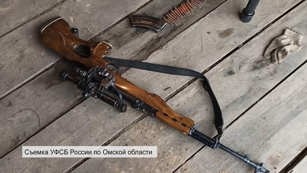 У жителей Омской области изъяли карабин с оптическим прицелом, винтовку и патроны