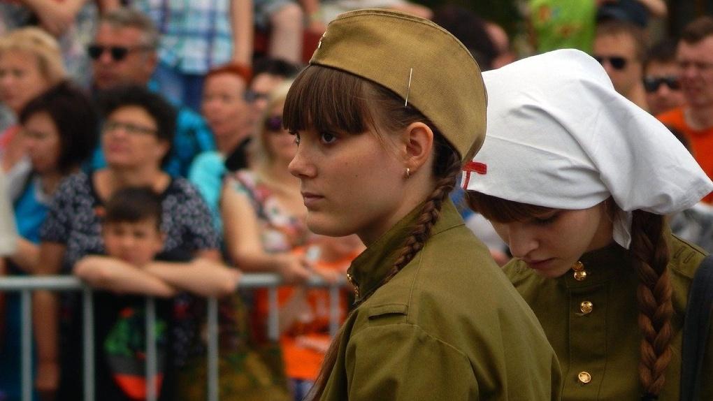 В Новосибирске две женские роты примут участие в Параде Победы