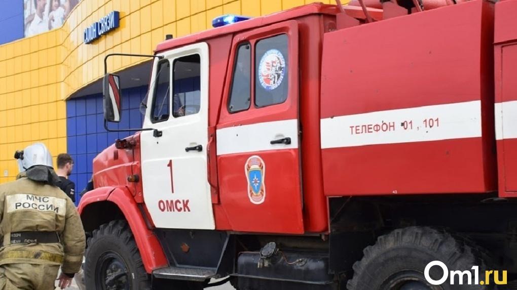 В омском МЧС рассказали, чем закончилось ДТП с участием пожарной машины