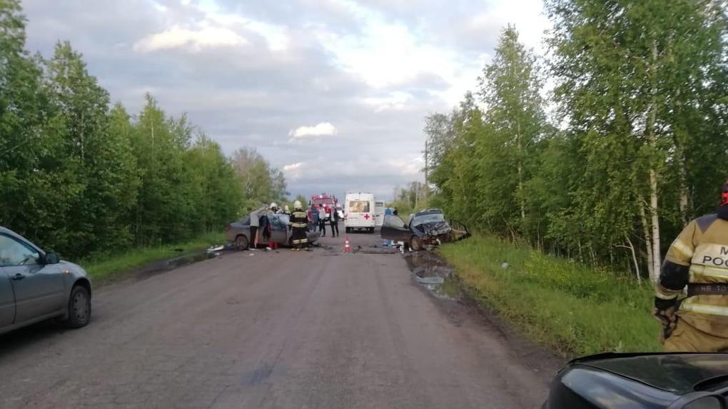 Под Омском произошло смертельное ДТП – у обоих водителей не было прав