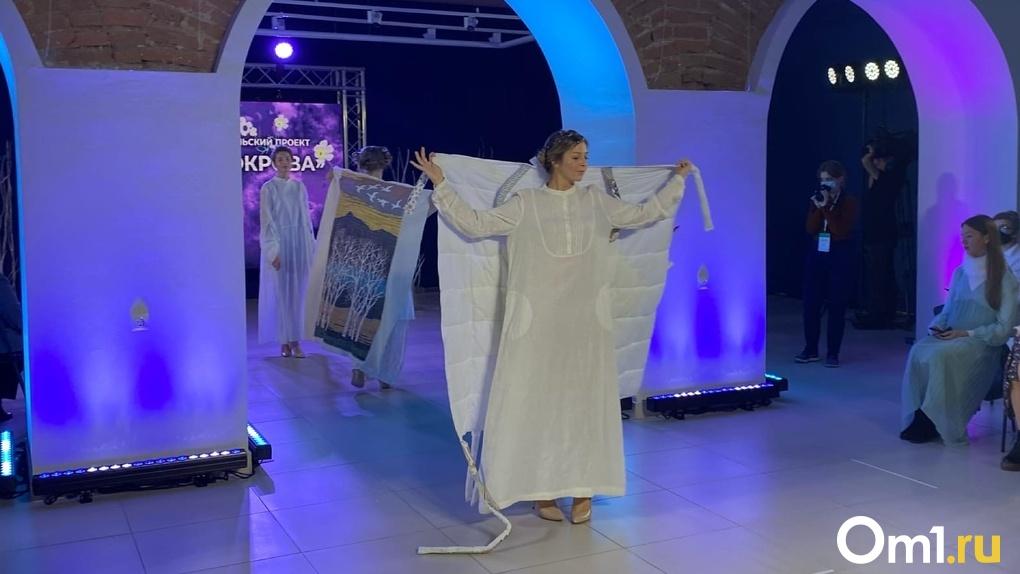 В Омске ценителям моды показали «Зимнюю сказку»