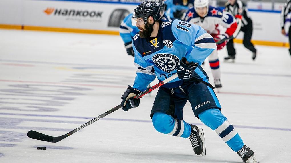 Хоккеист «Сибири» Эрик О`Делл получил серьёзную травму во время матча и не сыграет до следующего года