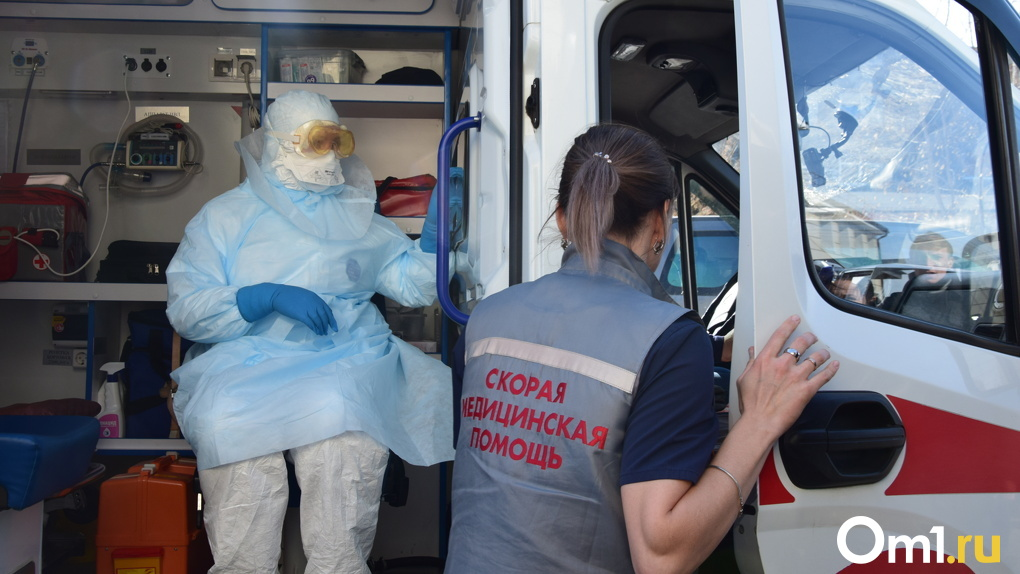 Под Новосибирском умер водитель ковидной скорой