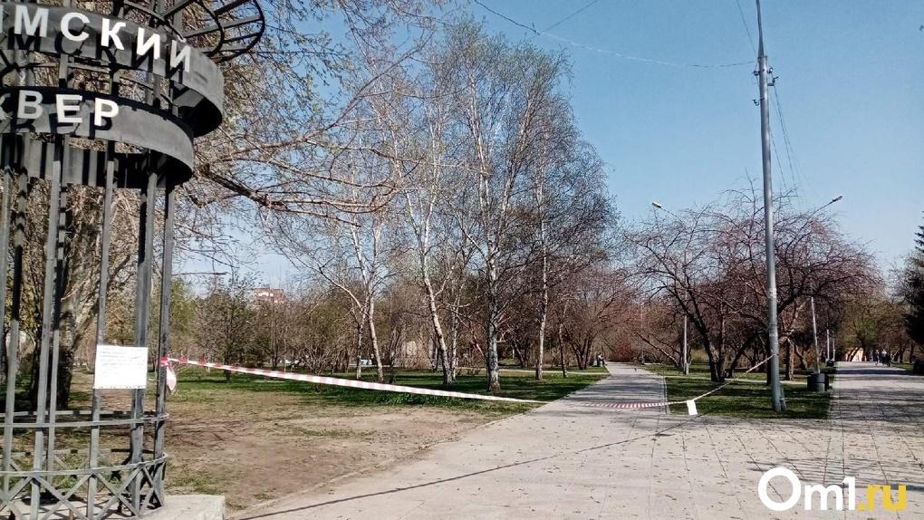 В Новосибирске парки и скверы сняли с карантина