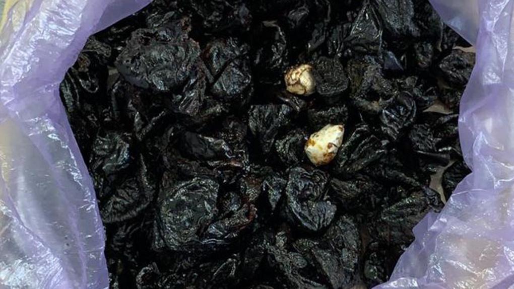 Наркотики в черносливе пытались перебросить в новосибирское СИЗО