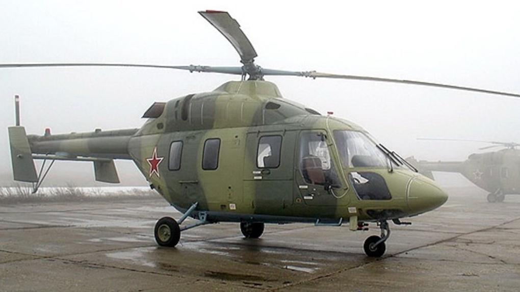 В Омске испытывают вертолеты за 350 миллионов рублей. Старая техника уже износилась