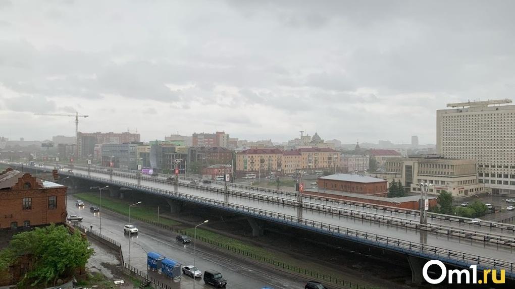 В Омске на 1 июня объявлено штормовое предупреждение