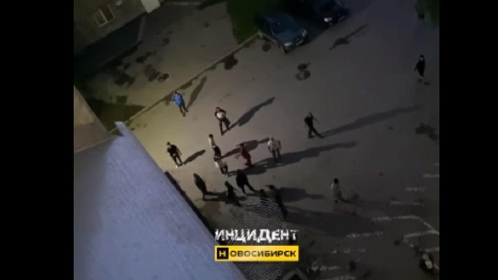 Межнациональная массовая драка произошла в Новосибирске