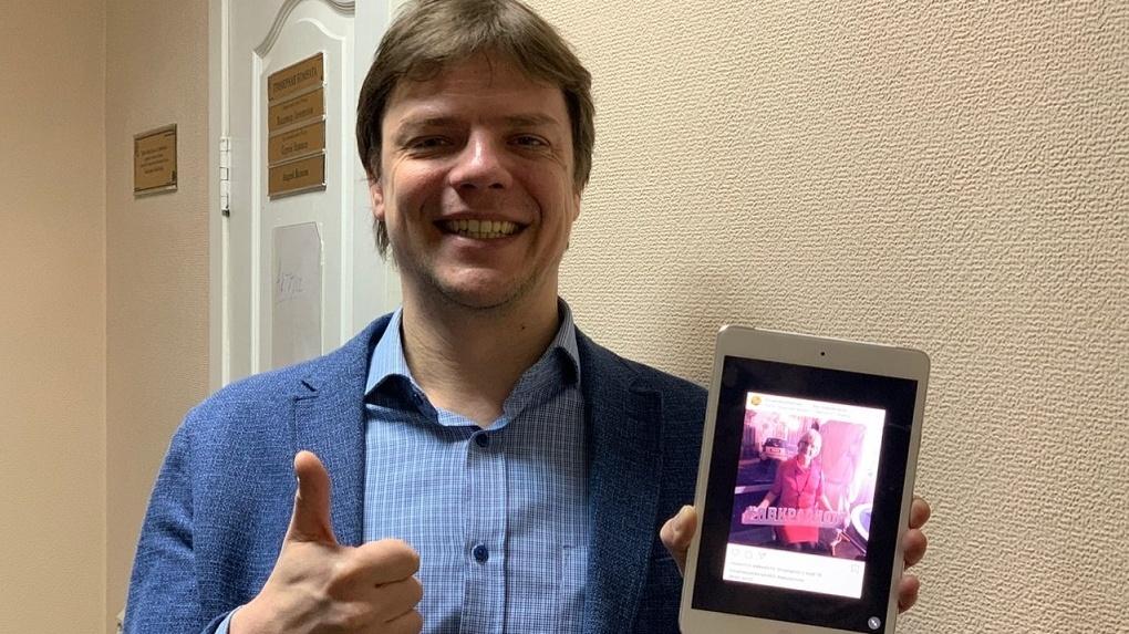 Актёр новосибирского театра ищет дом для 1,5-месячного котёнка