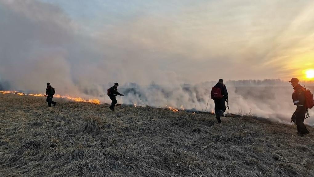 Огненное кольцо. Свыше тысячи термических аномалий выявлено в Новосибирской области